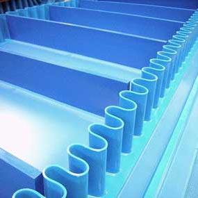 PVC и PU транспортни ленти с профили